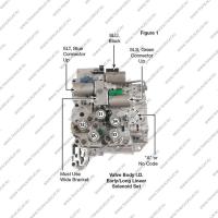 Комплект соленоидов регулировки давления SLU, SLT, SLS (тип 2, 3шт., восстановленные*)